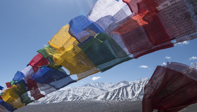 Prayer flags Himilayas