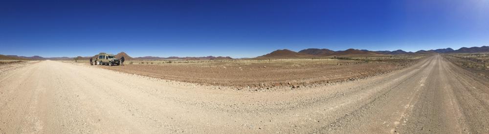 Namibia desert road
