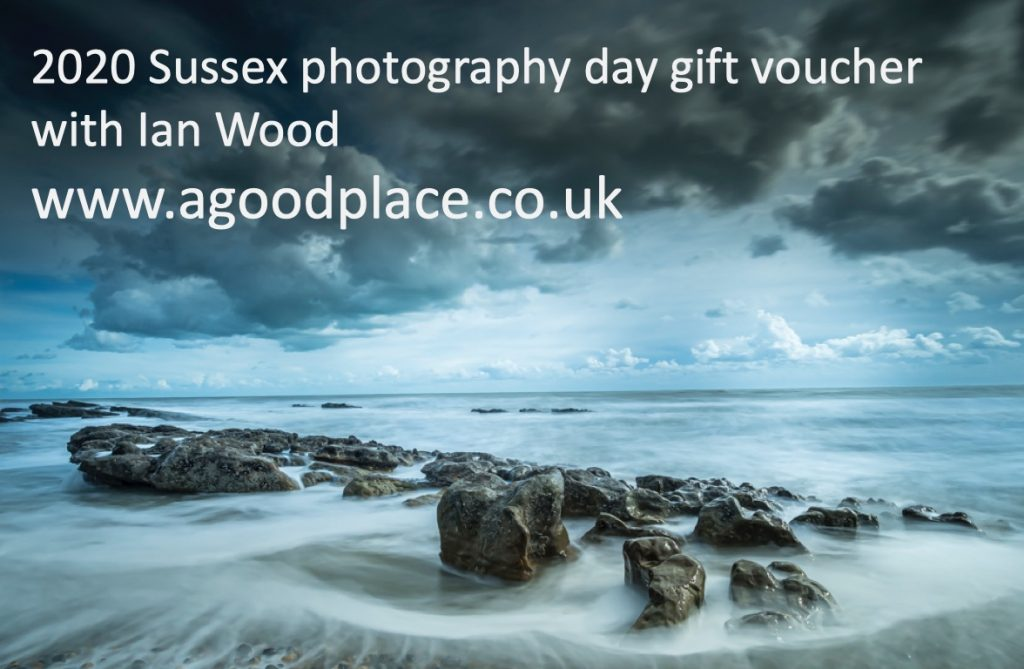 Gift voucher Sussex photography courses