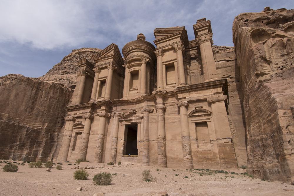 Petra photography advice Monastery