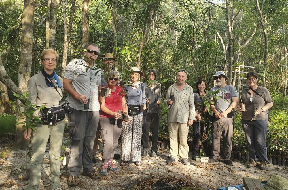 treeplanting Tanjung Puting