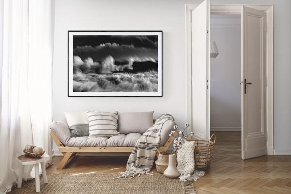 Seascape-print-living-room